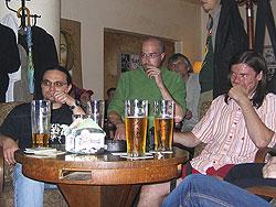 Zleva: Karel Jerie, Tomáš Hibi Matějíček, Tomáš Prokůpek