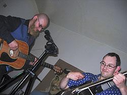 Nálada volemanovsko-holešovického kytarového blues vydržela do pozdních hodin…