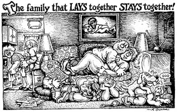 The family that LAYS together STAYS together!