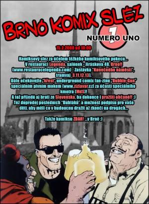 Brno komix slez #1