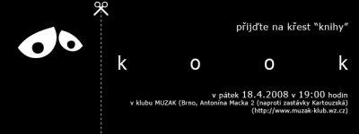 křest knihy Kook