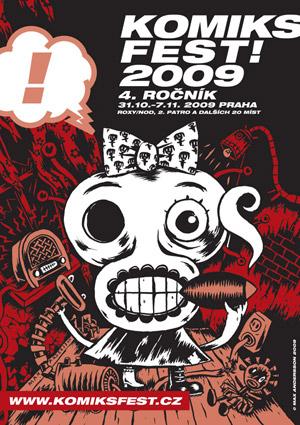 Vizuál festivalu KomiksFEST! 2009 (náhled)
