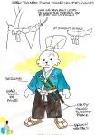 Návrh plyšové hračky od Stana Sakaie