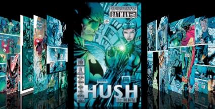 Batman: Ticho je jedním z 35 titulů DC, které si na iPad či iPhone můžete stáhnout. Zatím jsou k dispozici sešity #608-613
