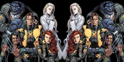 """Kreslíř Ethan Van Sciver vměstnal do jednoho sešitu série New X-Men několik podob slova """"sex"""". Pomstil se tak Marvelu i za to, že jeho obálky vycházely zrcadlově převrácené."""