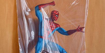 Simon Monk: Peter Parker, 2011, olej a alkyd na dřevě, 60 x 50 cm