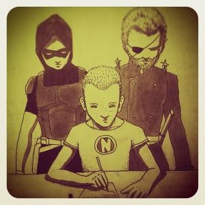 Rayder, Nikkarin, Antoine