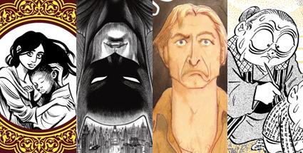 Habíbí, Batman: Death by Design, Ve stínu šumavských hvozdů, NonNonBa