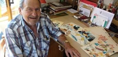 Cenzory za komunismu obcházel Weigel, říká kreslíř Jaroslav Malák