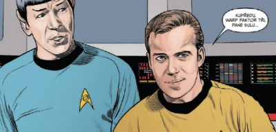 Komiksový Star Trek se poprvé teleportuje do Česka