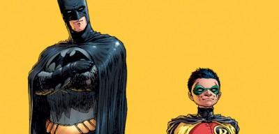 Batman a Robin ukazují vchod do Morrisonova labyrintu