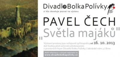 POZVÁNKA: Pavel Čech rozsvítí Světla majáků
