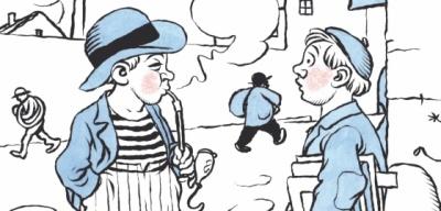 PRVNÍ SIGNÁLNÍ: Ladův humor potěší i po sto letech