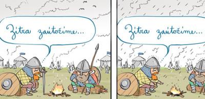 Pas faux pas #063: Bitva