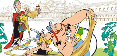 Asterix na papyru nedělá starosti jen Caesarovi