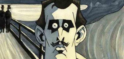 Munch od Steffena Kvernelanda představuje skicář, vněmž je celý život