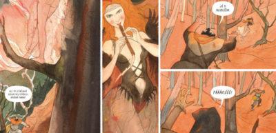 Prohlédněte si Grusovu komiksovou i obrazovou tvorbu na dvou výstavách