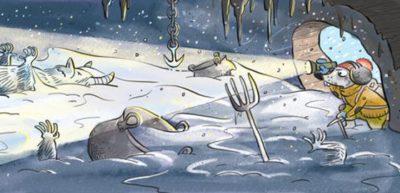 Peklo zamrzlo